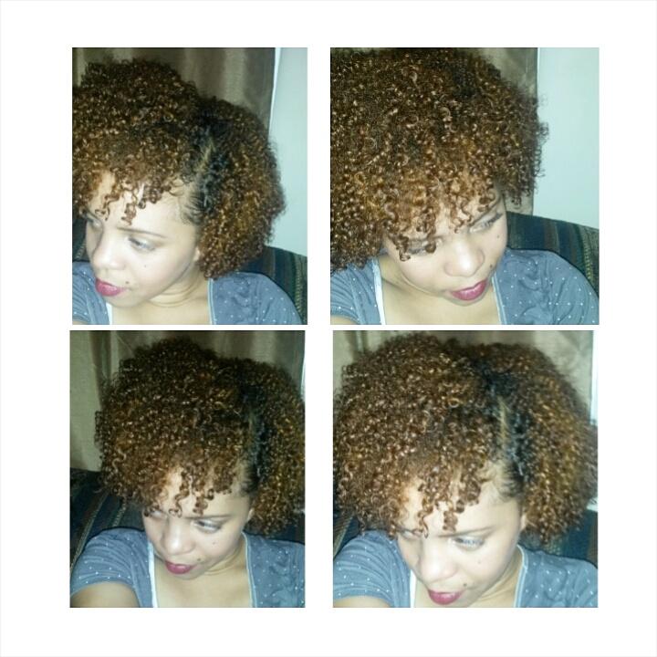 Adore 58 Cinnamon Semi Permanent Hair Color Review Curlygirlsade